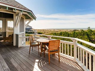 Cape Watch Cottage: 4 BR / 4 BA rental homes in Bald Head Island, Sleeps 10