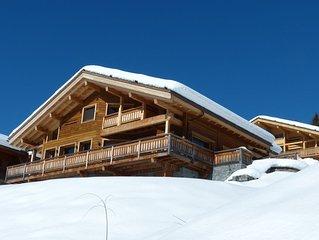 Chalet 5*****, services inclus, vue montagne