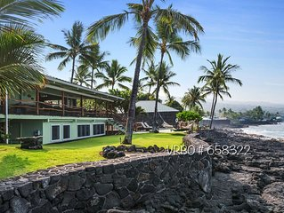 �Beautiful gated Private Oceanfront Home wit