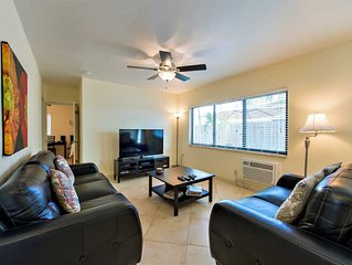 Tropical Garden Apartment is just Steps to Sand, Surf and Fun!