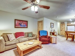 Family-friendly home with private hot tub - close to all of the action