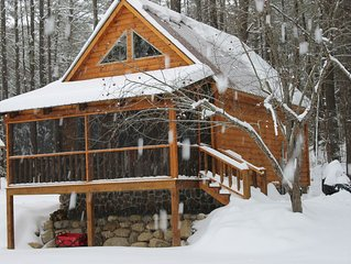 Enjoy Winter in The Adirondacks at Ruby Hill Cabins