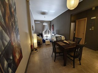 B5 Corinth city centre apartment with view.