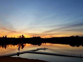 Slowing pure in picturesque place Klavreström