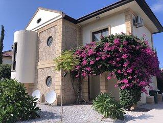 Luxury 4 Bedroom, 3 Bathroom Mediterranean Villa in Lapta minutes from the Sea