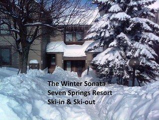 7 Springs Resort - True Ski-In & Ski-Out - Prime Location - The Winter Sonata