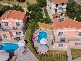 Villa Danae 1 & 2,  3-Bedroom Villas with Pool
