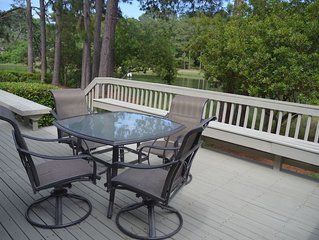 Large outdoor space, serene lagoon views, Sea Pines