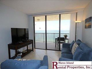 Sea Winds 1105: An amazing view from this Beachfront Condo!, 2 Full Bathrooms