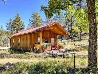 Charming, well-appointed cabin, near Mt Rushmore, view, great location, peaceful
