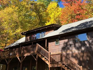 Perfect Timing!  Enjoy the Late Fall Colors in Gorgeous Mountain Home