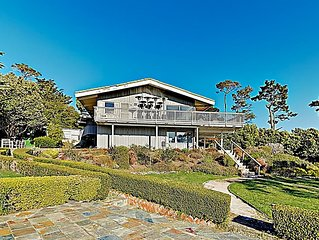 Palatial All-Suite Pebble Beach Estate w/ Ocean Views on 1 Acre