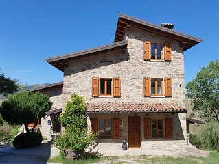 Lovely holiday house in the Emilian hills