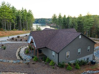 Lake James Waterfront with Dock, Pool, Kayaks and Paddle Boards!