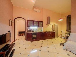 Deluxe apartment in the heart of Saint-Petersburg