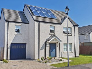 Modern Dog Friendly Self-Catering House in Dornoch.