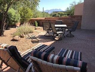 Spacious, Bright1 BR, 1.25 BA, Mountain Views, steps to Las Campanas Rec Center!