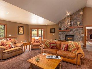 Mtn Modern Cabin | 1 Mile To Resort | 2 Lounge Areas | Sleeps 11 | Lots to Love