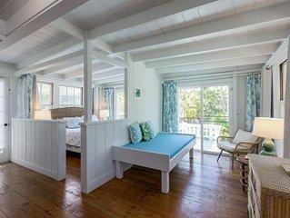 New Listing! Chic Oceanfront Retreat - Steps to Kailua Beach & Lanikai Beach