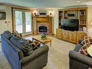 Beautiful 2-BR Ski-in, Ski-out Village Condo at Jay Peak, right on the slopes!