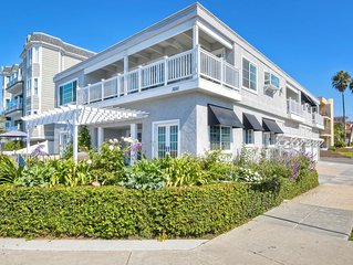 Gorgeous Studio in the Heart of Carlsbad Village-100 Yards from Beach w/views!