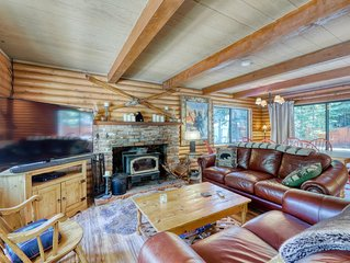 Beautiful cabin-style near shores of Lake Tahoe - cross-country ski from home!