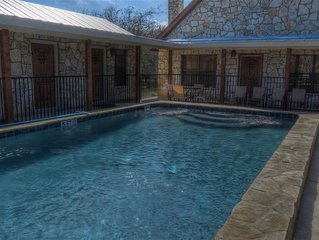 Frio River! - Cypress Bend Subdivision  -  ARROWHEAD  home with POOL !!!