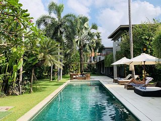 Luxury Villa Kamehameha 4 Bedroom,private pool, &  Chef *Seminyak Bali