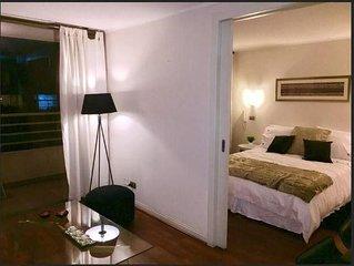 Cabaluna - Chic 1 Bedroom near Manquehue station