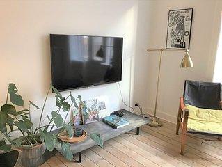 Lovely one-bedroom apartment located in the vibrant area Copenhagen Vesterbro