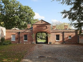 This splendid property is located just six miles from the North Norfolk coast.