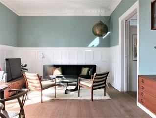 City Apartment in Frederiksberg Kommune mit 3 Schlafzimmern 5 Schlafplätzen