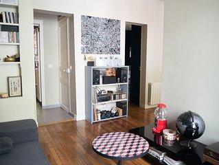 HostnFly apartments - Appartement lumineux près des Buttes Chaumont