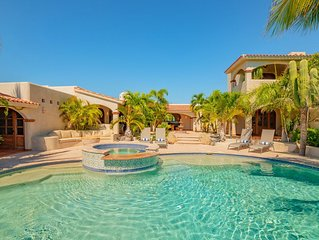 Tropical Hacienda Style Mexican Villa in Secure Gated Community