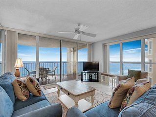 Sweeping Gulf Views from Private Balcony! Gated Community with 24 Hour Security!