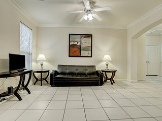 New Listing!! Newly furnished condo, I-10 West/Beltway 8, 4 bedrm 2 bath, 77080