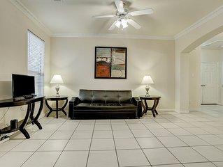 New Listing!! Newly furnished condo, I-10 West/Beltway 8, 4 bedrm 2 bath, 77080