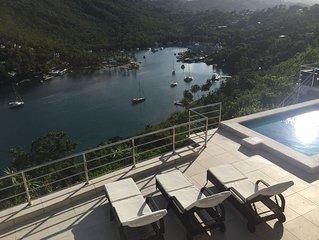 Amazing Views - New 2 Bed Villa Marigot Bay - Initial Discounts Available