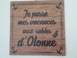 VOS VACANCES AUX SABLES D'OLONNE LA PLUS BELLE PLAGE DE LA COTE DE LUMIERE