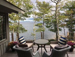 Rockport Oceanfront/Designer perfection! Luxury for 4! Possibly 6. Camden 2 min.