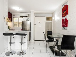 Ground floor with beautifully private and secure north facing courtyard.