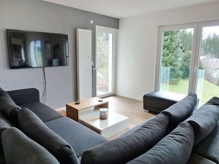Lovely apartment for 9 guests with WIFI, TV, balcony, pets allowed and parking