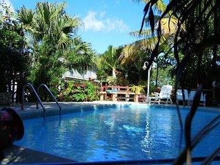 Maison avec accès piscine