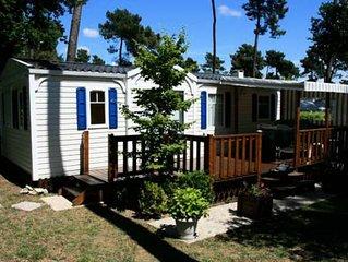 Camping Village Siblu Le Lac des Rêves**** - Mobil Home Elegance 4 Pièces 6/8 Pe