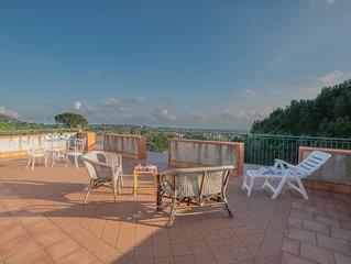 Casa Museo A' Rina, sull'Etna con vista panoramica e WiFi gratuito