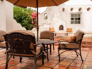 Newly renovated detached Santa Fe style guesthouse with 31 day minimum stay