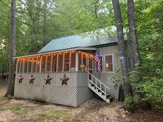 Charming Mountain Cabin plus Community Dock with Lake Burton Access!