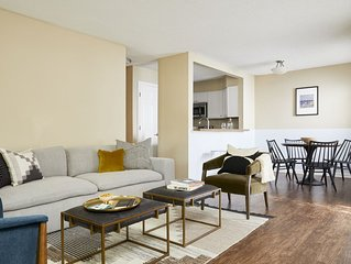 Domio | Uptown Charlotte | Airy One Bedroom | Pool + Laundry + Parking