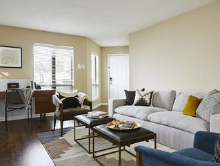 Domio | Uptown Charlotte | Designer One Bedroom | Pool + Laundry + Balcony