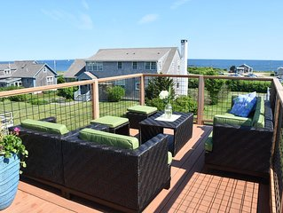 3 minute walk to the beach, panoramic water views -pet friendly